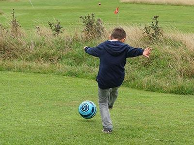 Family Fostercare footgolf adventure