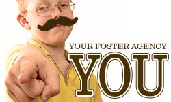 your foster agency needs you thumb