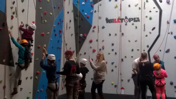 The Children's Council and Indoor Climbing!